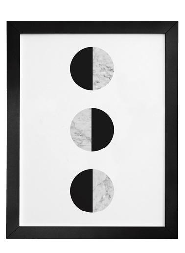 Nordbagen Balance Black Poster Siyah
